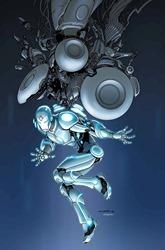 Superior Iron Man #1 Cover - Cinar Variant