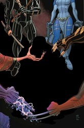 Wolverines #1 Cover - Redacted