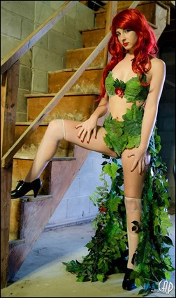 Sparky Cosplay as Poison Ivy Original Design (Photo by Chris Auditore Photography)