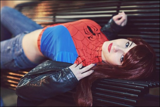 Sparky Cosplay as Mary Jane Watson (Photo by MV Photography)