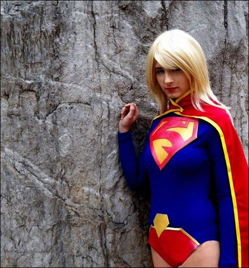 Sparky Cosplay as New 52 Supergirl (Photo by Whitney's Wonders)