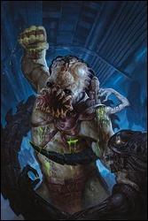 Alien vs. Predator: Fire and Stone #3 Cover