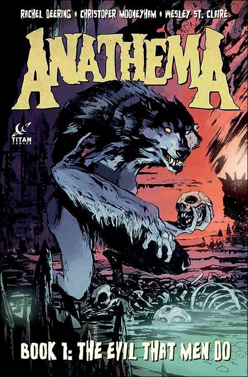 Anathema Book 1: The Evil That Men Do Cover