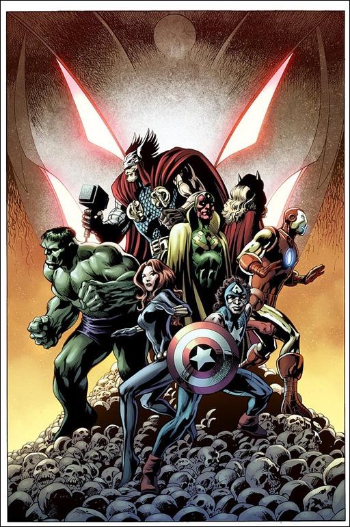 Avengers: Ultron Forever #1 Cover