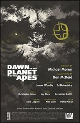 Dawn of the Planet of the Apes #1 Preview 1