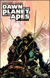 Dawn of the Planet of the Apes #1 Cover