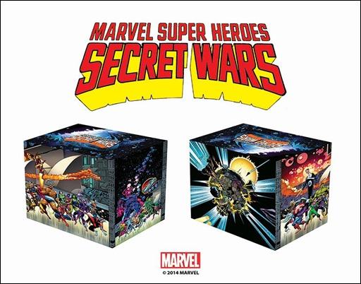 Marvel Super Heroes Secret Wars: Battleworld Box Set Slipcase Edition