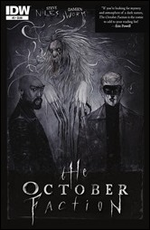 The October Faction #2 Cover