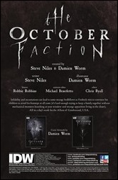 The October Faction #2 Preview 1