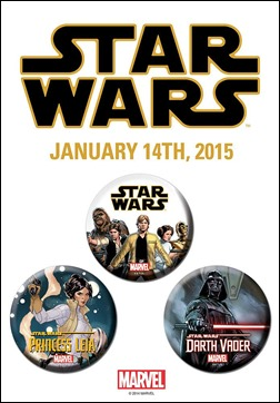 Star Wars #1 Exclusive Button Designs