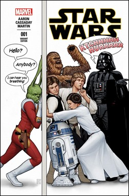 Star Wars #1 Cover - John Tyler Christopher Party Variant