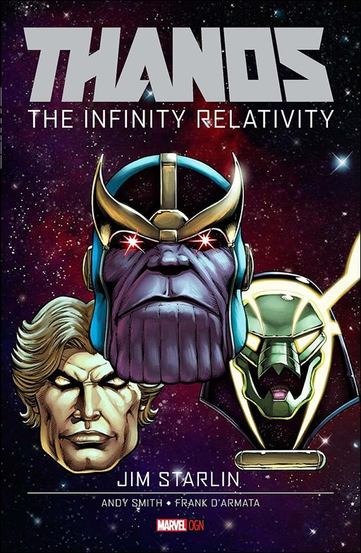 Thanos: The Infinity Relativity OGN Cover