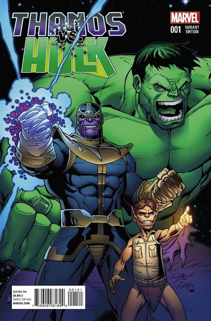 preview thanos vs hulk 1 by jim starlin