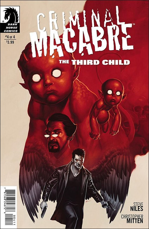 Criminal Macabre: The Third Child #4 Cover