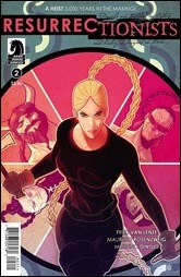 The Resurrectionists #2 Cover