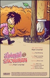 Abigail and the Snowman #1 Preview 1