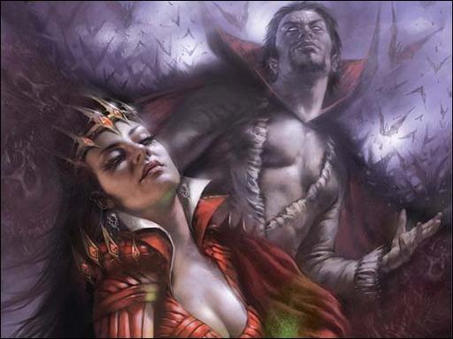 Blood Queen vs. Dracula #1