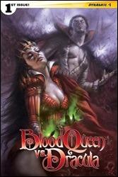 Blood Queen vs. Dracula #1 Cover D - Parrillo