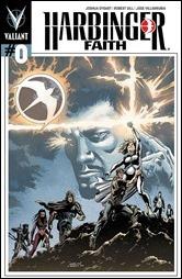 Harbinger: Faith #0 Cover - Level Variant