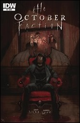The October Faction #3 Cover