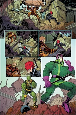 Wolverines #1 Preview 3