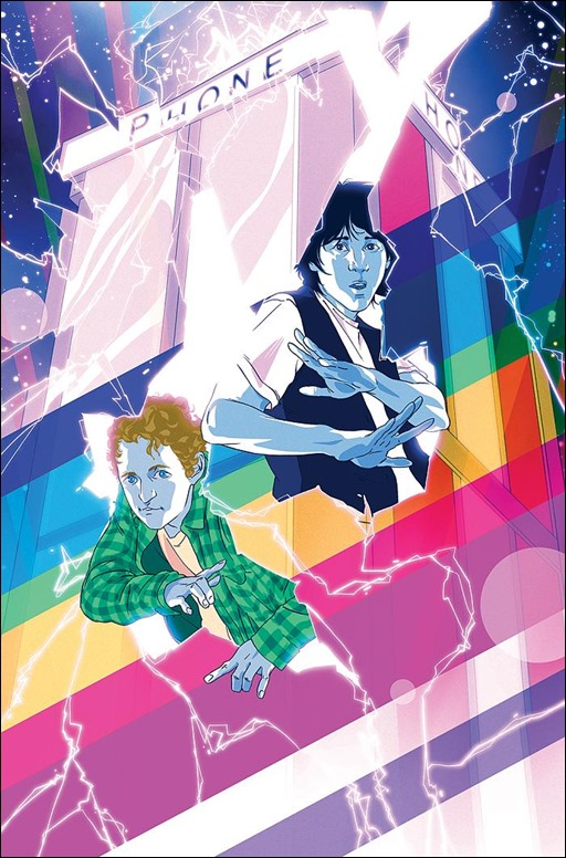 Bill & Ted's Most Triumphant Return #1 Cover C by Goñi Montes