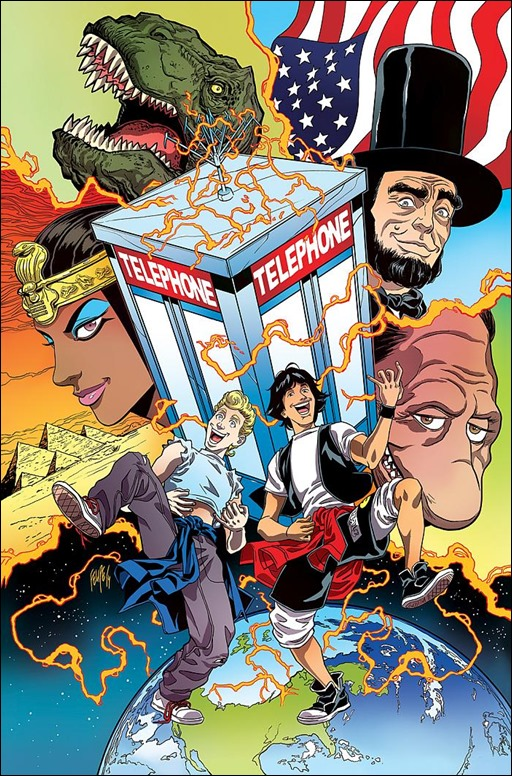 Bill & Ted's Most Triumphant Return #1 Cover A by Felipe Smith
