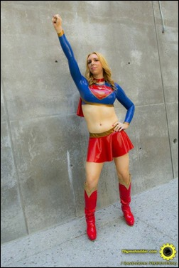 Jerikandra Cosplay as Supergirl (Photo by Thymehadder Photography)