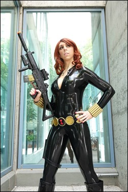Jerikandra Cosplay as Black Widow (Photo by Eurobeat Kasumi Photography)