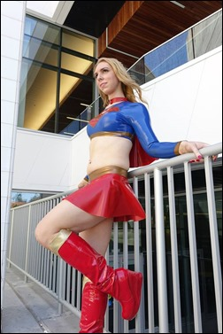 Jerikandra Cosplay as Supergirl (Photo by Eurobeat Kasumi Photography)