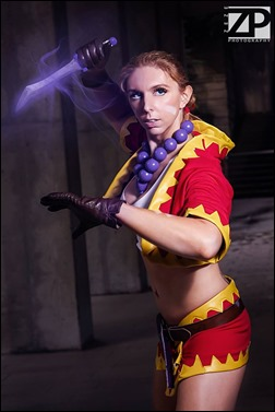 Jerikandra Cosplay as Kid from Chrono Cross (Photo by Zeze Photography)