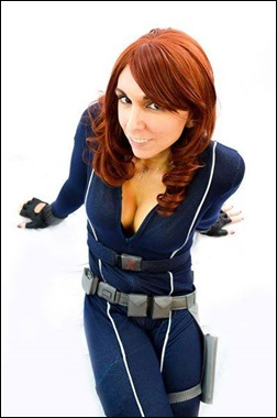Jerikandra Cosplay as Black Widow (Photo from Jet City Comic Show)