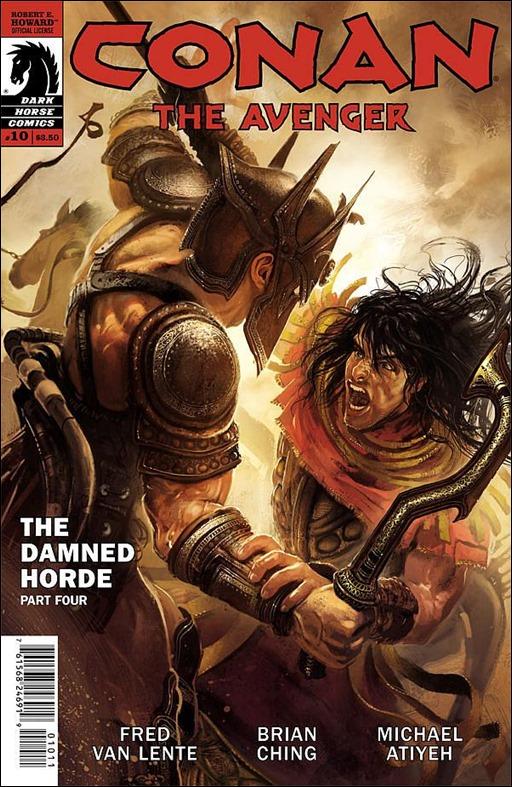 Conan The Avenger #10 Cover