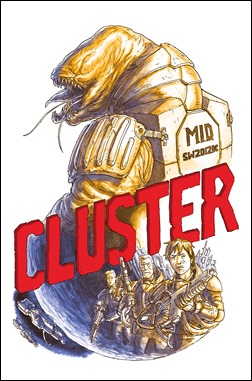 Cluster #1 Chase Cover (1:99) by Simon Roy