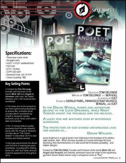 Poet Anderson: The Dream Walker Press Release 2