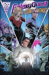Galaxy Quest: The Journey Continues #1 Cover