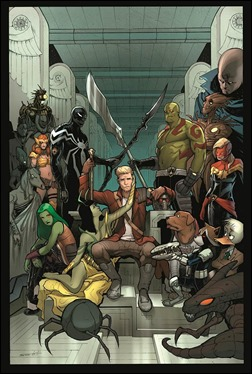 Guardians of the Galaxy #24 Cover