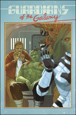 Guardians of the Galaxy #24 Cover - Noto Variant