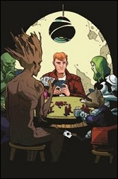 Guardians of the Galaxy #25 Henderson WOM Variant