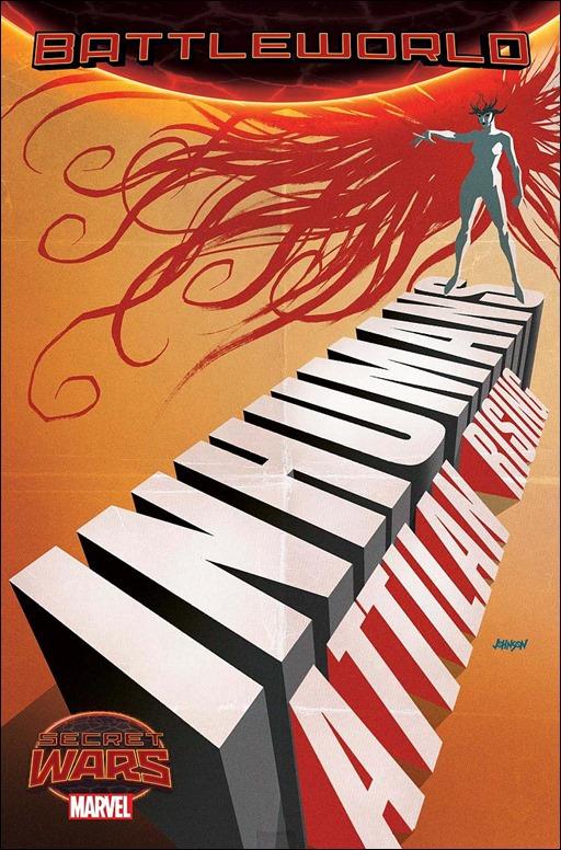 Inhumans: Attilan Rising #1 Cover