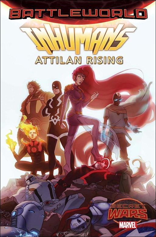 Inhumans: Attilan Rising #1 Cover - Forbes Variant