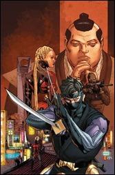 Ninjak #1 Cover B - Mann
