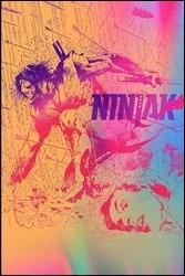 Ninjak #1 Cover - Valiant Next Variant by Hairsine & Muller