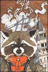 Rocket Raccoon #9 Lee WOM Variant