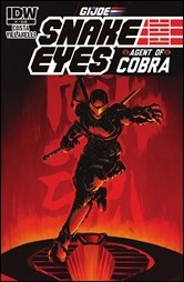 G.I. JOE: Snake Eyes: Agent of Cobra #1 Cover