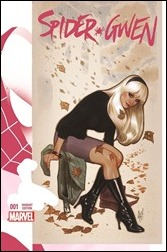 Spider-Gwen #1 Cover - Hughes Variant
