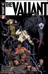 The Valiant #2 Cover A - Rivera