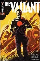 The Valiant #2 Cover B - Francavilla Variant