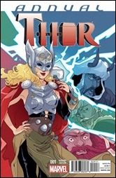 Thor Annual #1 Cover - Sauvage Variant