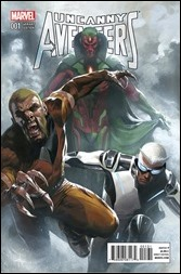 Uncanny Avengers #1 Cover - Dell'Otto Variant